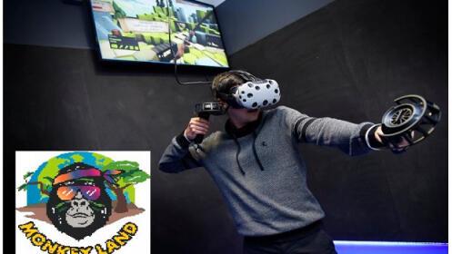 Sesión de realidad virtual 2 horas