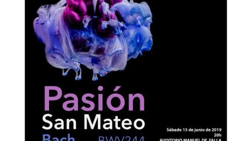 Concierto Pasión según San Mateo de Bach, 15 junio