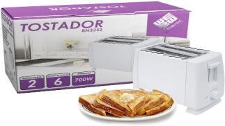 Tostador Houseware 2 rebanadas