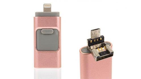 i-Flash 16GB o 32GB para iOS y Android