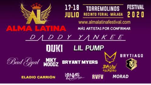 Altavoz bluetooth + abono festival Alma Latina con Becky G y Daddy Yankee, 17 y 18 julio