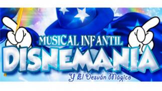Musical infantil Disnemanía, 1 febrero