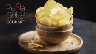 Chips Gourmet de Aove y Trufa...(8 bolsas de 120g y 200g)