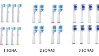Pack 8 cabezales compatibles Oral B