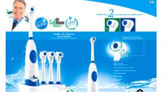 Cepillo de dientes eléctrico LuftHous por sólo 4,95€