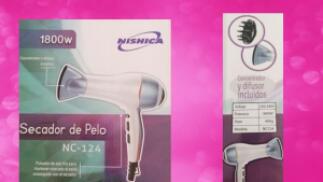 Secador de Pelo 1800W Nishica NC124 por 7,95€