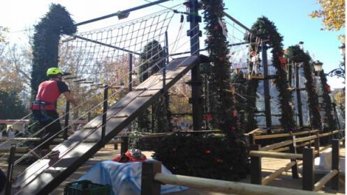 Entradas pista de trineos y bosque aventura navideños