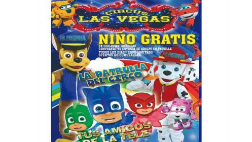El Ejido: entrada niño + adulto Circo Las Vegas