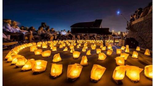 Concierto 1 piano & 200 velas, 18 agosto Monasterio de San Jerónimo