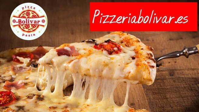 Pizza gigante para 2 + 2 bebidas + entrante o postre