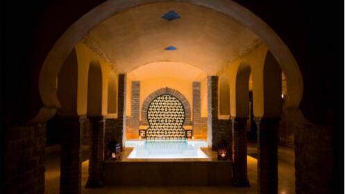 Sesión termal baños de San Miguel