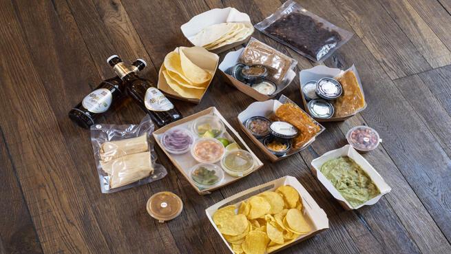 FaraláHOME. Auténtico Menú Mejicano para 2 sin salir de casa