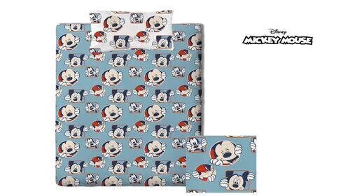 Funda Nordica cama individual Mickey Mouse por 9,95€