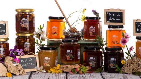 Estuche 2 tarros de miel artesanal de alta calidad Campotoro Selecta