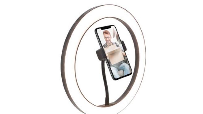 Mejora tus selfies y vídeos con aro de luz + trípode
