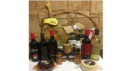 Cestas de Navidad con productos Granadinos