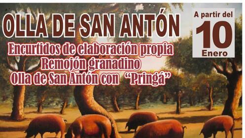 Menú para 2 de olla de San Antón – El Guerra