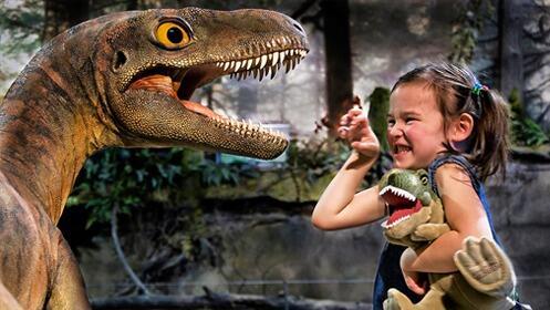 Jaén: Dinosaurs Tour ¡Dinosaurios a tamaño real! del 31 de octubre al 8 de noviembre