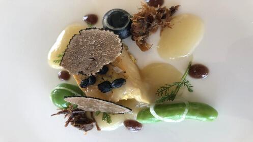 Restaurante Arriaga y La Costa: menú Estrella Michelin
