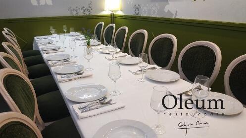Restaurante Oleum Granada: menú exclusivo Granada Gourmet 2020