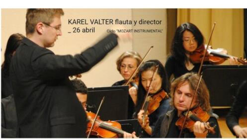OCG - Mozart instrumental (flauta), 26 abril