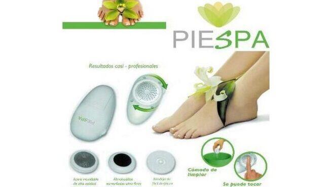 Kit de pedicura electrónica PieSpa