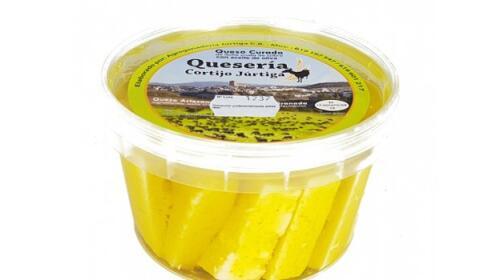 1/2 kg Queso añejo en aceite de oliva virgen